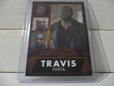 Rittenhouse Continuum Season 3 Gold Parallel Travis CH6 023/100