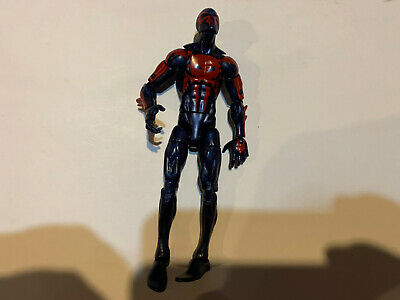 Marvel Legends Spiderman 2099 Figure From Hobgoblin Baf Build A Figure