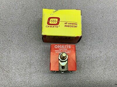 New In Box Ohmite Rheostat Model H