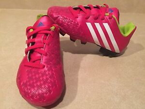 Toddler Adidas TRX-FG Outdoor Soccer Cleats Size 12