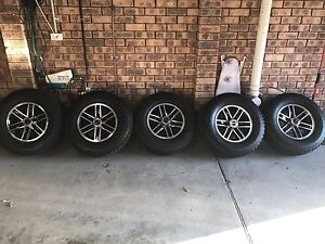 5 x ROH 4x4 Rims & All Terrain Tyres Charlestown Lake Macquarie Area Preview