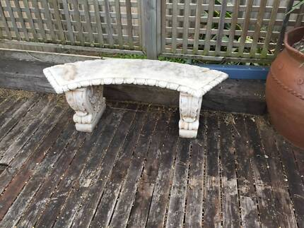 Concrete Curved Bench Seat Aspley Brisbane North East Preview