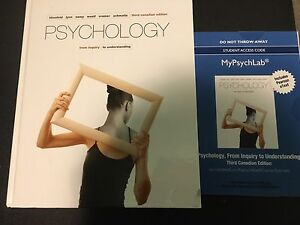 Psychology from Inquiry - 3rd Edition WITH ACCESS CODE