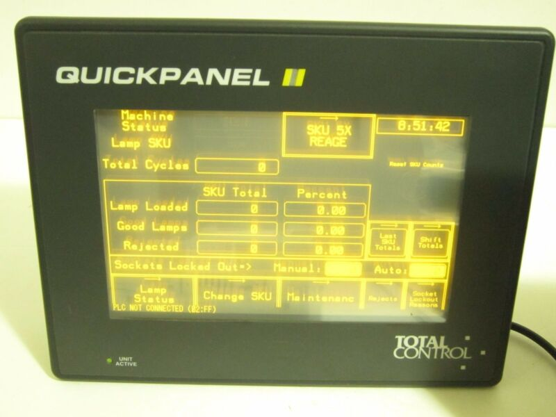 TOTAL CONTROL QPI21100E2P QUICKPANEL Fully Tested See Desc