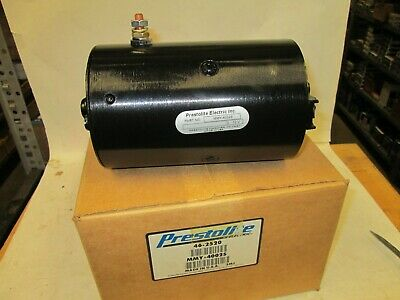Prestolite 46-2520 Mmy4002s New Hydraulic Pump Motor Cw 12v Slotted Shaft