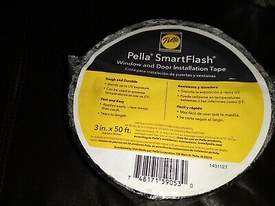 3 X 50 Pella Smart Flash Window Door Installation Flashing Tape New14 Each