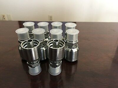10143 8-8 Aftermarket Hydraulic Hose Fittings 12 Mp 10pk