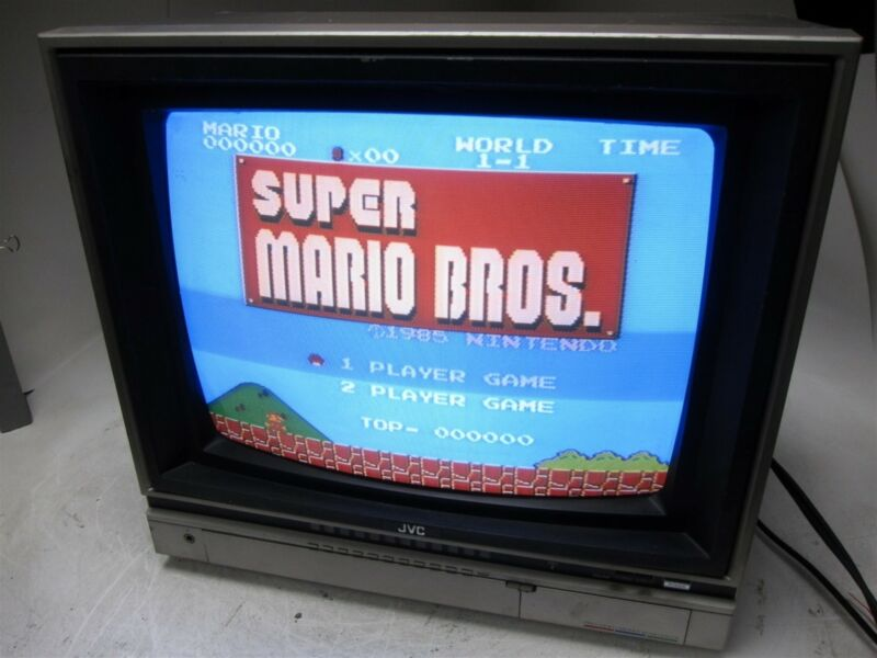 "JVC C-2082UM 20"" Retro Gaming Color Commercial CRT TV Monitor"