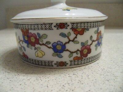 Farberware Porcelain Covered Dish~Dog Head Handle~Made in Czechslovakia