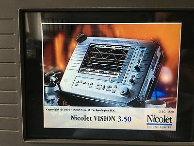NICOLET VISION Data Acquisitin System getestet Funktioniert