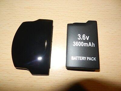 Batteria Sony Psp 2000 2004 3000 3004 Accu 3600mAh + Spesso Coperchio Copri usato  Spedire a Italy