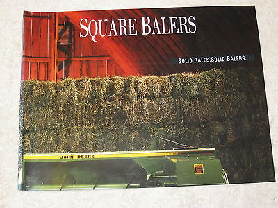 1993 John Deere 328338 348 468 Square Balers 12 Page Brochure