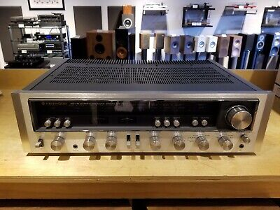 Kenwood KR-7600 Vintage Stereo Receiver 70W - Great Sound Cleaned & Working