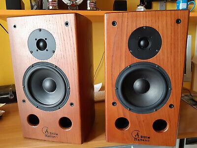 diffusori acustici CPR modello Taormina, in legno massello, perfetti
