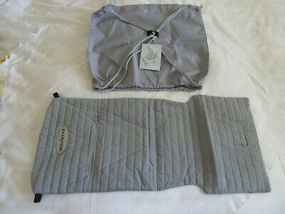 New Maclaren Gray Volo Stroller Seat Liner Cover + Shopping Bag Accessory Kit, usado segunda mano  Embacar hacia Argentina