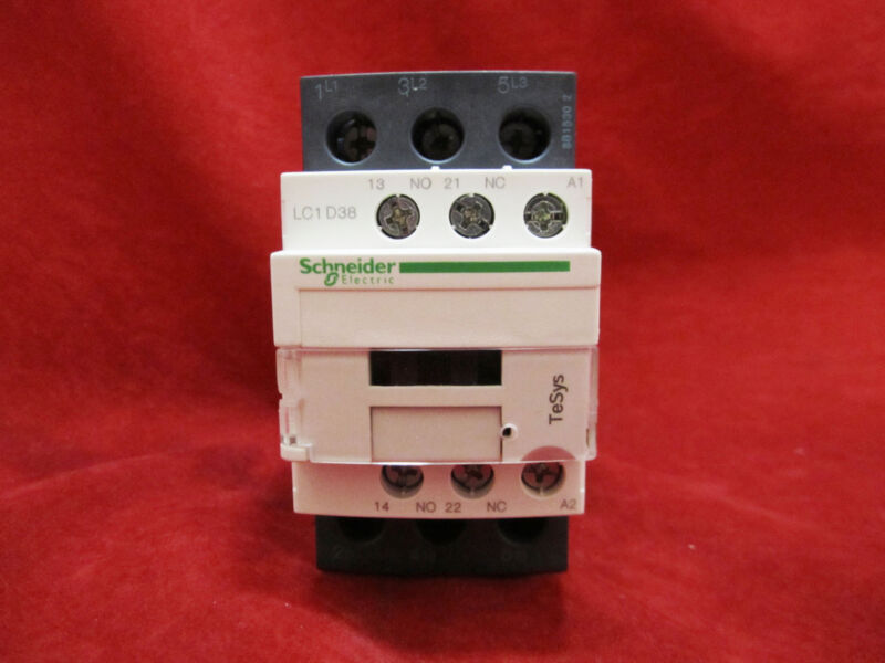 Schneider/Telemecanique LC1D38F7 Magnetic Contactor AC110V