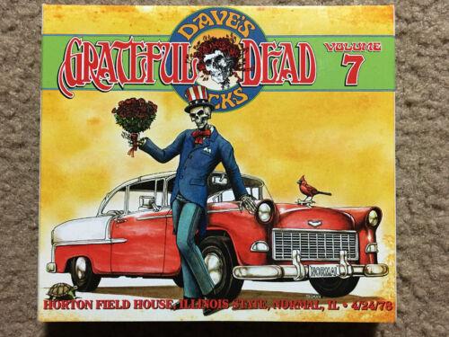 Grateful Dead Dave s Picks Volume 7 Normal IL 4/24/78 3-CD Set OOP Awesome Show  - $169.00