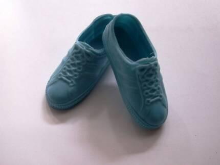 Vintage 1978 Ken Dolls shoes Blue Sneakers/Runners