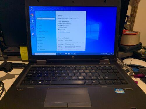"""HP ProBook 6470B Core i5 3230M 2.60GHz 8GB RAM 256GB SSD 14"""" WIN 10 PRO"""