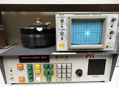 Spectral Dynamics 4501 Pind Impact Noise Detection Tester Shock Vibration Nm56