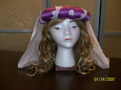 Costume Medieval Renaissance Sca Larp Re Enactment Theatre Fantasy Clothing Hat