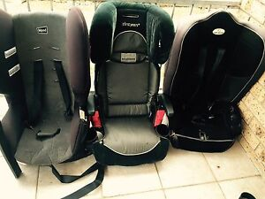 2car seat and one booster seat $20each Granville Parramatta Area Preview
