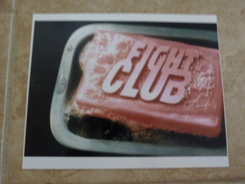 Ed Edward Norton Brad Pitt Fight Club Color 8x10 Picture Photo Bar Soap