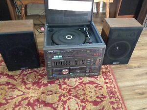 Yorx cassette and record player