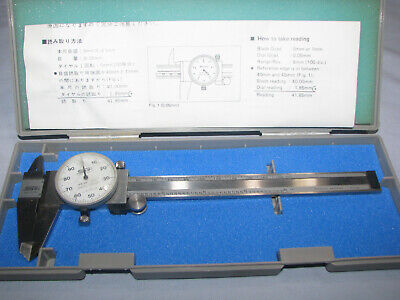 Spi Made In Japan Shockproof No 31-511-9 Dial Indicator Gauge Wmitutoyo Case
