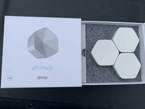 3x Comcast Xfinity xFi Pods WiFi Extender Repeater Range Net