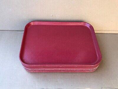 10 Cambro Fiberglass Trays 16-14 X 12