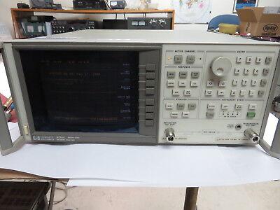 Hp 8752c 300khz-6ghz Network Analyzer Options 006 010