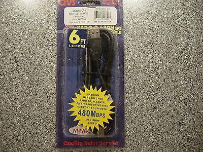 USB-кабель USB Cable Black Type A