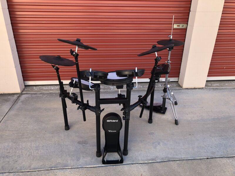 Roland TD-17KVX V-Drums - pre-owned electronic drum set kit XLNT
