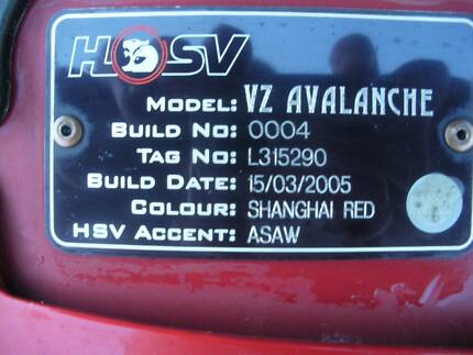 2005 HSV Avalanche Wagon Casino Richmond Valley Preview