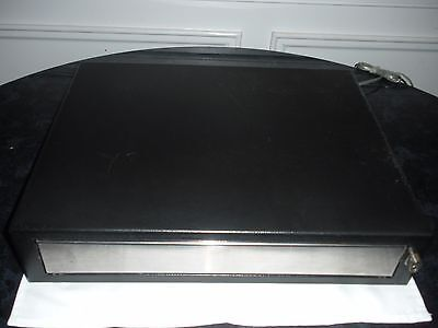 MMF Heritage Black Cash Drawer ECD 200 12VDC Without Key and tray. ()