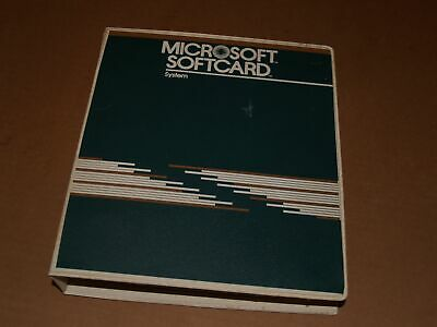 Vintage 1982 Microsoft Softcard Manual for Apple II and CP/M