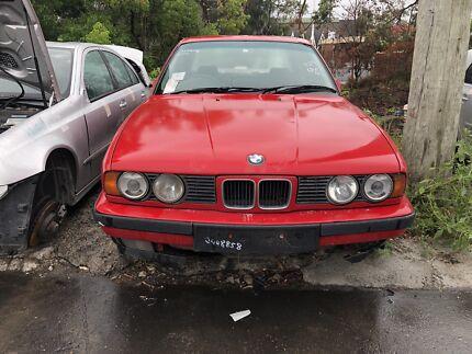 BMW E34 5 series 1989 525i manual Northmead Parramatta Area Preview
