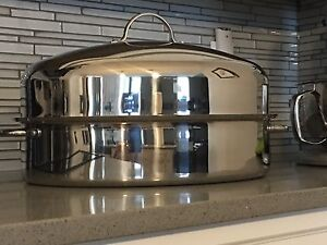 Large Costco Stainless Roaster