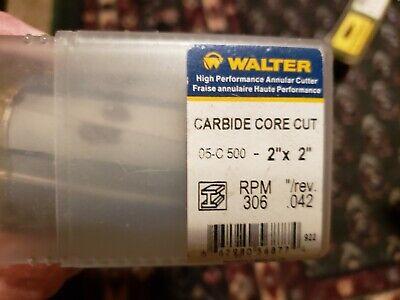 Walter Carbide Core Bit 2x2