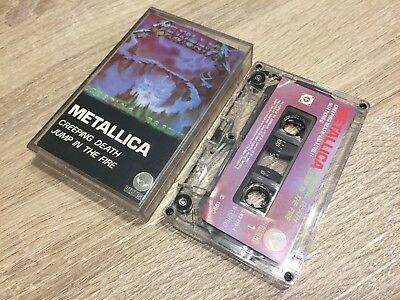 Metallica Creeping Death/Jump In The Fire EP Vertigo 1990 Kassette Cassette (Metallica Creeping Death Jump In The Fire Ep)