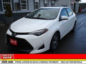 2017 Toyota Corolla We finance 0 money down & cash back* LE