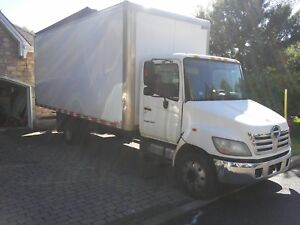 Camion cube 20 pieds hino 2007