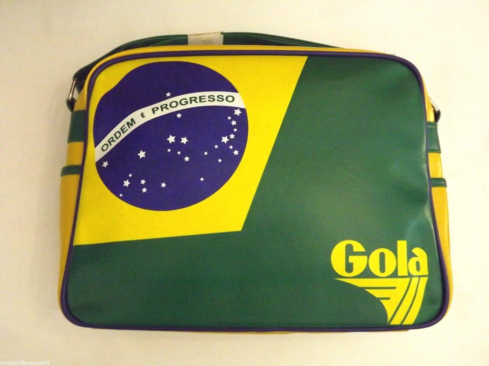 SCONTO - 30% GOLA BORSA REDFORD NATION CUB407 BRAZIL IRELAND JAPAN ARGENTINA