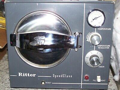 Refurbished Ritter Speedclave 7 Autoclave-sterilizer-good Condition-90 Day Warr