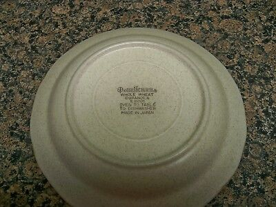 4 - MIKASA WHOLE WHEAT E8001 SALAD PLATES GRANOLA MORE AVAILABLE - $17.99