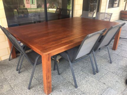 Wanted: Wooden Outdoor Table and Chairs