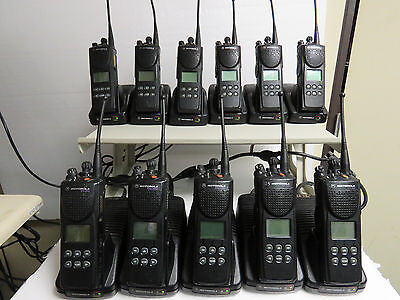 Motorola Xts3000 Model Ii Uhf 450-520mhz P25 S-split Two Way Radio