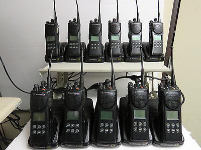 Motorola XTS3000 Model II UHF 450-520MHz P25 S-split Two Way Radio