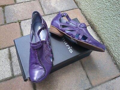 Tamaris, Echt Leder Damen Schuhe Sandalen Gr: 37; NEU NP 80 €
